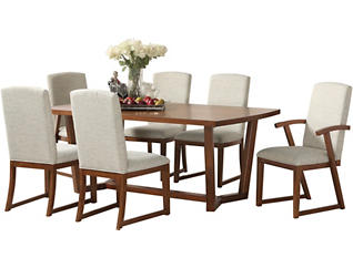 Sydney Table,4 Side Ch 2 Arm, , large