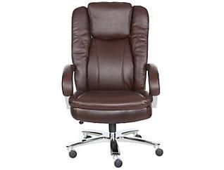 Alba Brown Desk Chair, , large