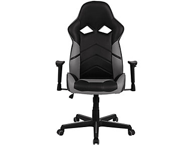 Dante Grey Gaming Chair, Grey, large