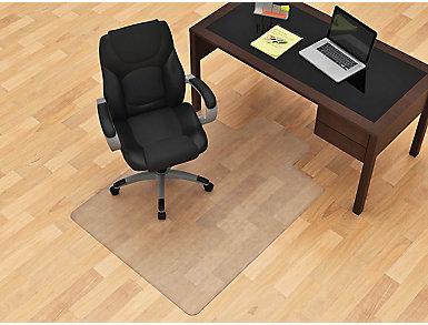 Allen 45x53 Hardwood Chair Mat, , large