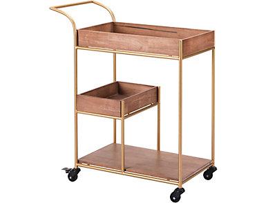 Tray Bar Cart, , large