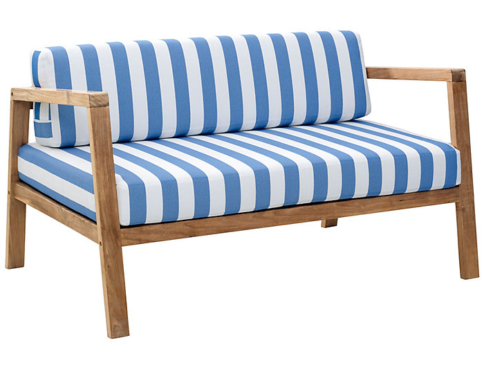 Nautical Striped Sofa | Art Van Home