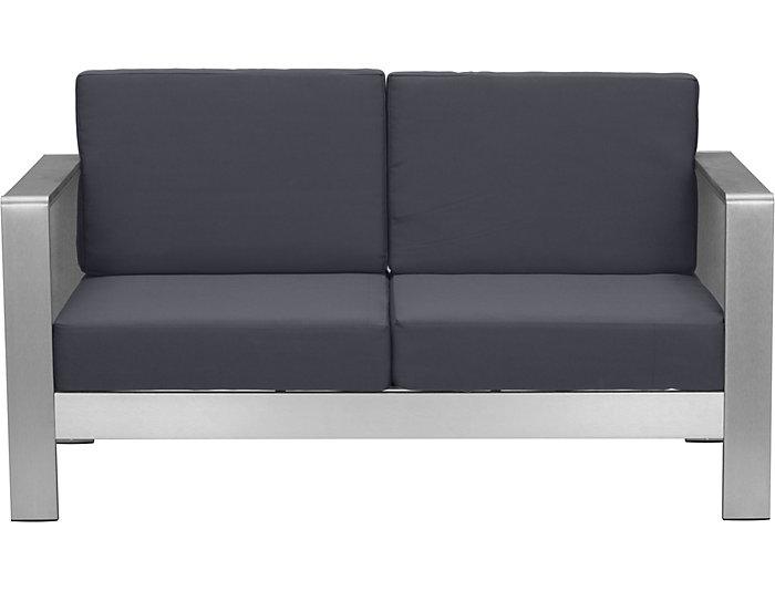 Cosmopolitan Grey Sofa, , large