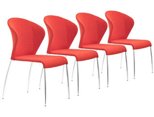 Oulu Dining Chair (Set of 4), , large