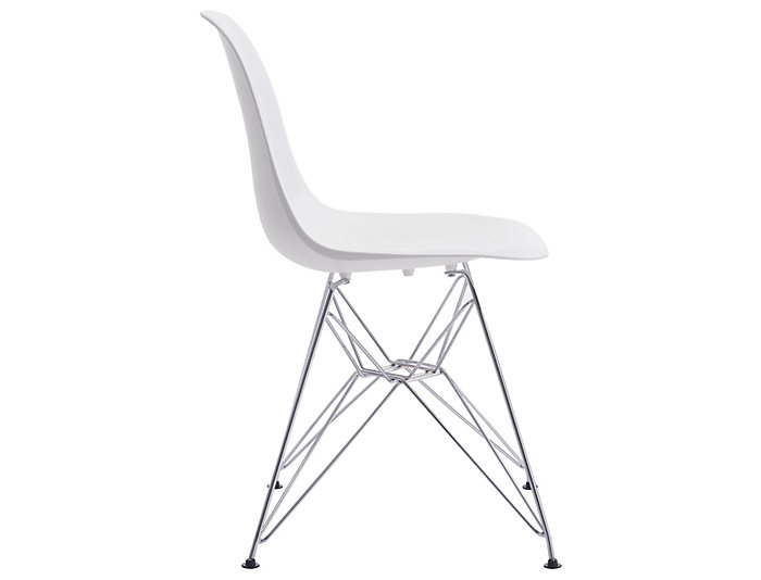 Zip Dining Chair White, , large
