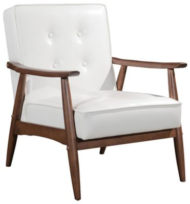 Rocky Arm Chair, White, swatch