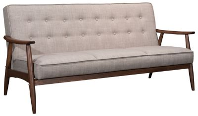Rocky Tufted Sofa, Putty, Putty, swatch