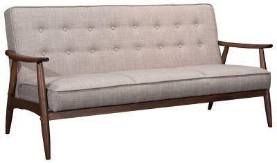 Rocky Tufted Sofa, Putty, swatch