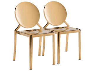 Eclispe Gold Chair (Set of 2), , large