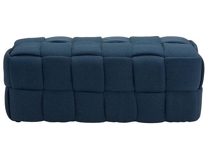 Checks Bench Navy Blue, , large