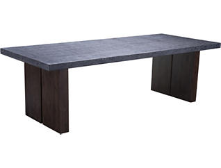 Iverson Dining Table, Grey, , large