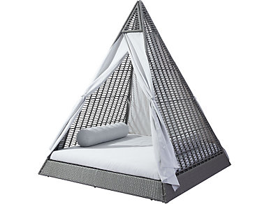 Elston Teepee Daybed, Grey, , large