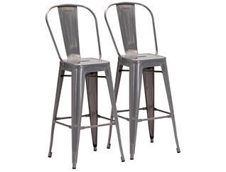Elio Bar Stool (Set of 2), , large