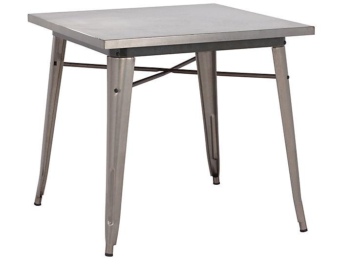 Olympia Gunmetal Dining Table, , large