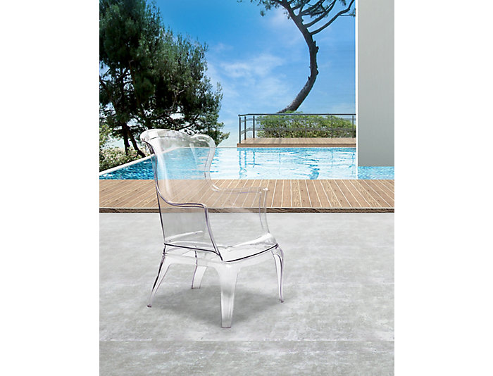 Vision Chair, Clear Acrylic, , large