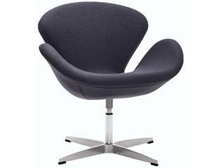 Pori Swivel Chair, Grey, , large