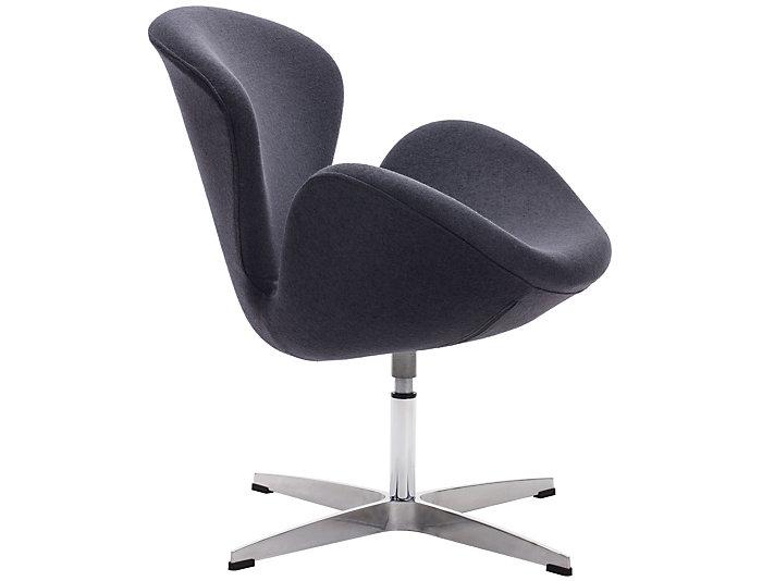 Awe Inspiring Pori Swivel Chair Grey Evergreenethics Interior Chair Design Evergreenethicsorg