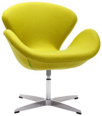 Pori Swivel Chair, Green, swatch