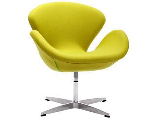 Pori Swivel Chair, Green, , large