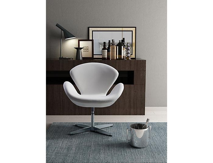 Astounding Pori Swivel Chair White Evergreenethics Interior Chair Design Evergreenethicsorg