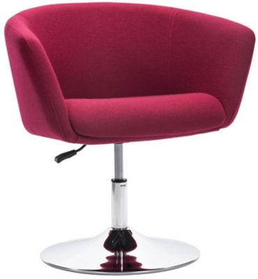 Umea Swivel Armchair, Red, swatch