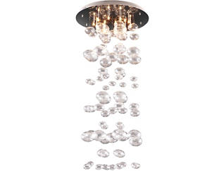 Inertia Ceiling Lamp Clear, , large