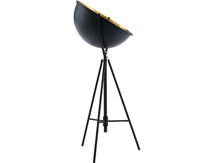 Vauxhall Floor Lamp Ant Black, , large