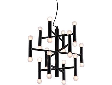 Alton Ceiling Lamp Black, , large