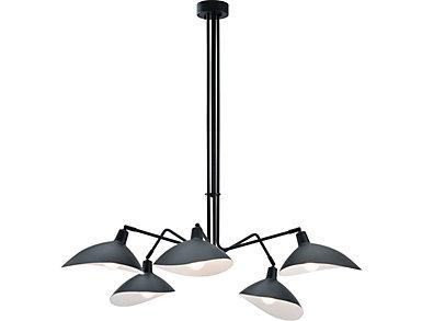 Desden Ceiling Lamp Black, , large