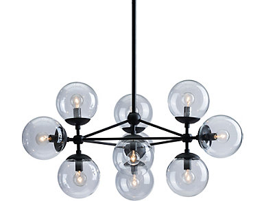 Belfast Ceiling Lamp Black, , large