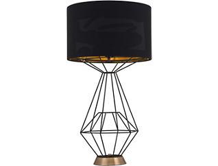 Delancey Black Table Lamp, , large