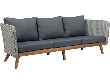 Seaside Sofa, Grey, , large