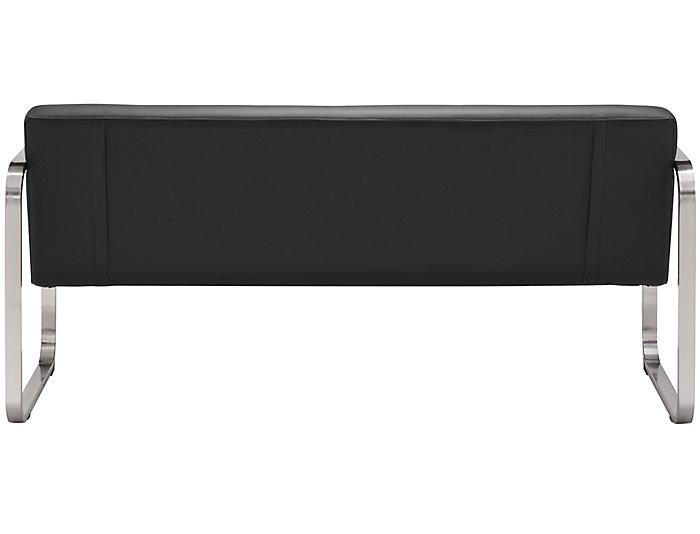 Varietal Tufted Sofa, Black, Black, large