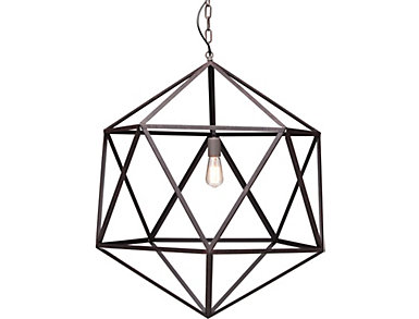 Amethyst Ceiling Lamp Large, , large