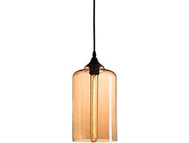 Bismite Ceiling Lamp Blk/Amber, , large