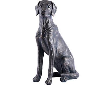 "26"" Bronze Dog Statue, , large"