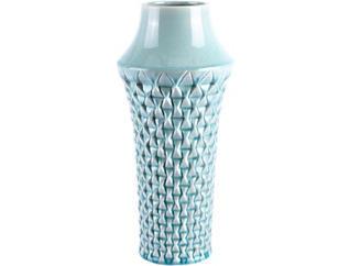 "16"" Brick Light Teal Vase, , large"