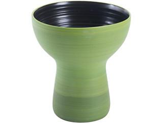 """Areca 10"""" Green Vase, , large"""
