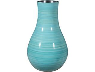 "Aralia 17"" Blue Vase, , large"