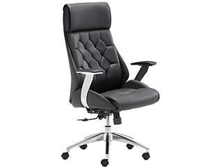 Boutique Black Office Chair, , large