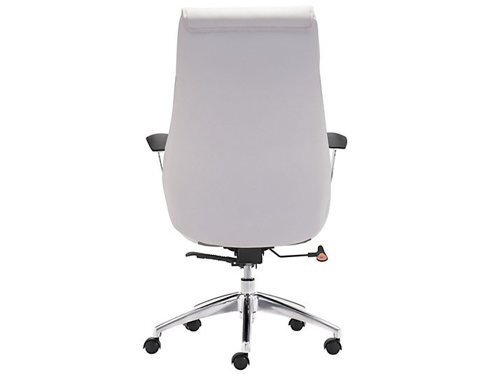 Boutique White Office Chair, , large