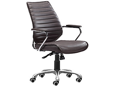 Enterprise Brown Office Chair, , large