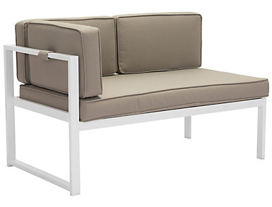 Golden Beach LAF Chaise, Taupe, , large