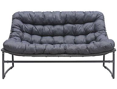 Ingonish Cushioned Sofa, Grey, , large