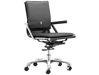 Lider Black Office Chair, , large