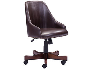 Maximus Brown Office Chair, , large