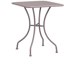 Oz Taupe Square Bistro Table, Taupe, , large