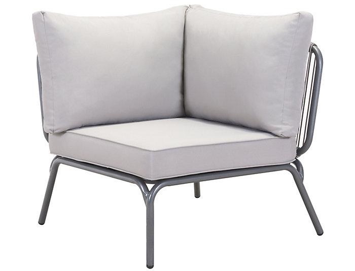 Attirant ... Pier Corner Chair, Grey, , Large ...