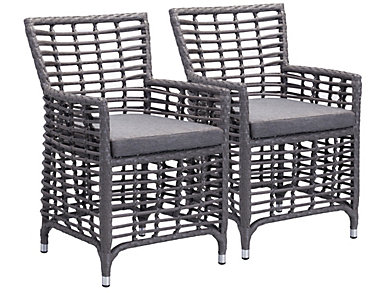 Manson Dining Chair (Set of 2), Grey, , large