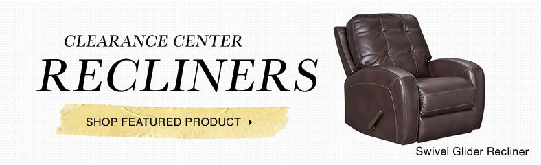 clearance center recliners